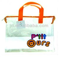 Transparent Soft Pvc Bag For Cosmetic