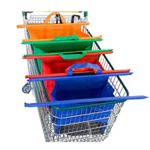 Eco Friendly Reusable Grocery Bags For Shopping Carts