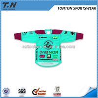 mens cheap sublimation custom ice hockey jersey