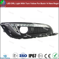 Special led drl light,with turn yellow function,white,led drl for Buick 14 New Regal
