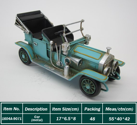 Latest Arrival super quality beautiful metal car wholesale
