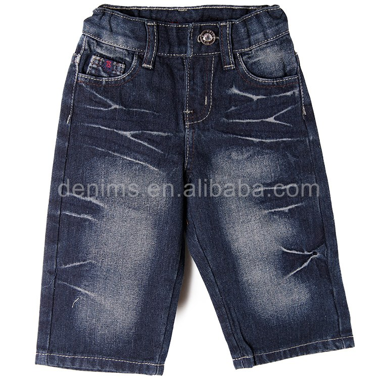 EMB-2254S-c1 Hot sale new style boy's short jeans