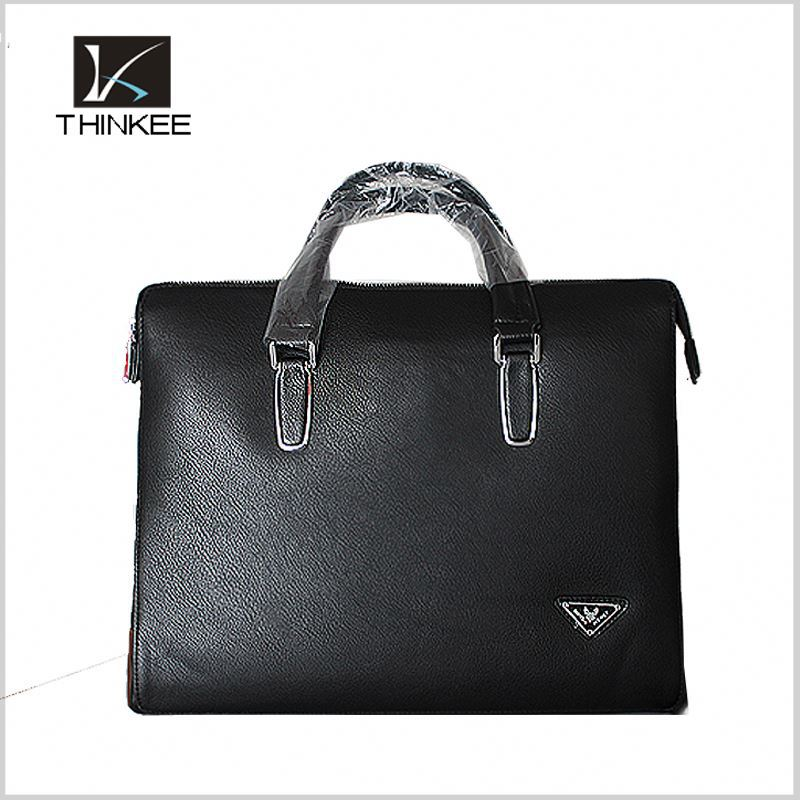 Custom Design Wholesale Man Vintage Real Leather Office Bags for Men