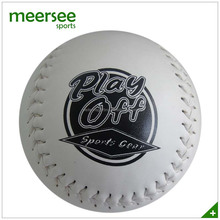 Promotional hand sewn OEM logo printed softball