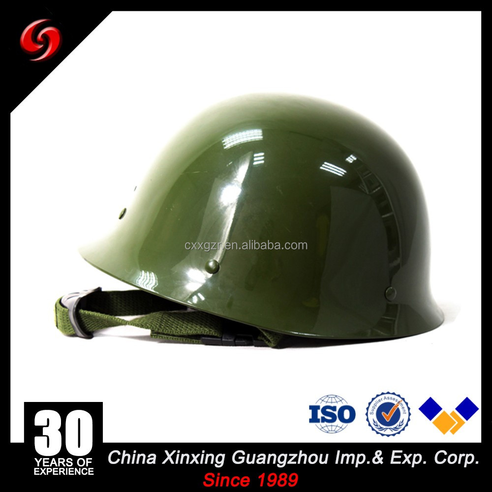New style army green anti riot duty performing PC safety helmet