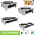 Electric & Gas Crepe Pancake Maker For Your Choose