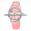 NO 9243 Fashion diamond decoration fancy leather lady sport watches