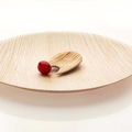 special antique nature wooden bamboo food container plate