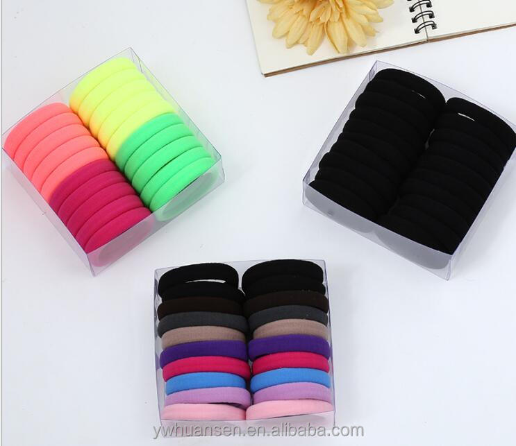 4.5cm Wholesale Big Nyon Colorful Women Elastic <strong>Hair</strong> Bands High Quality Girls <strong>Hair</strong> <strong>Accessories</strong> Popular Ponytail Holder <strong>Hair</strong> Ties