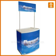 counter, exhibition booth stall, promotion stall