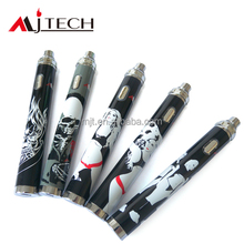 e cig sex battery 1300/1600mAh 3.3-5.5V top twist voltage aa battery cigarette
