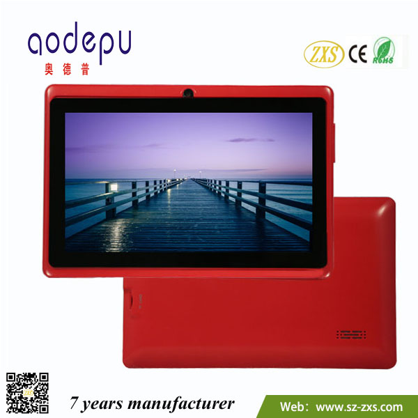 large wholesale cheapest dual core,7 inch MID,12 colors,1024*600 china android tablet pc with wifi,FM,