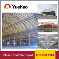 transparent plastic glass sheet for balcony roof cover