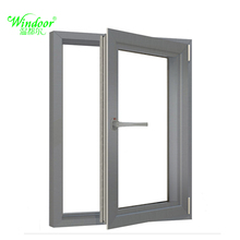 Single Or Double Tinted Glass Casement Window Pvc Sample Design Window Grills Price For Sale