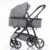 Ce Certificate Baby Doll Stroller and 3 in 1  High View Baby Pram PU Wheels 808B Type