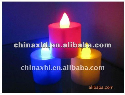 Flame electronic flashing led candles