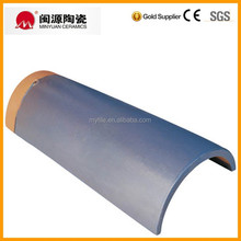 Clay curved roof ridge tile manufacturer