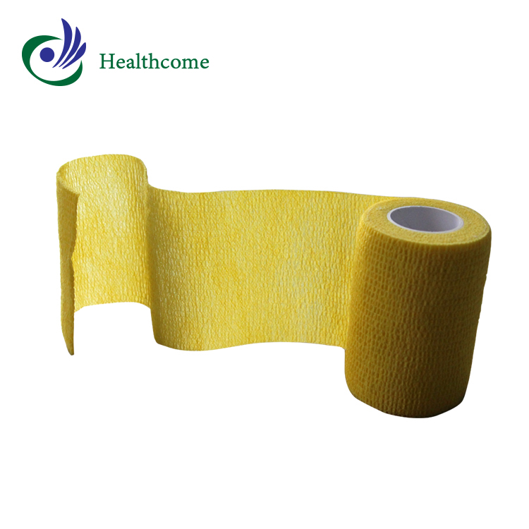 Medical orthopedic skin care colored wound plaster adhesive bandages