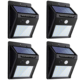 Amazon HOT Waterproof Outdoor Super Bright LED Solar Motion Sensor Wall Lights