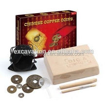 Treasure Of Chinese Ancient Copper Coins Dig Kit