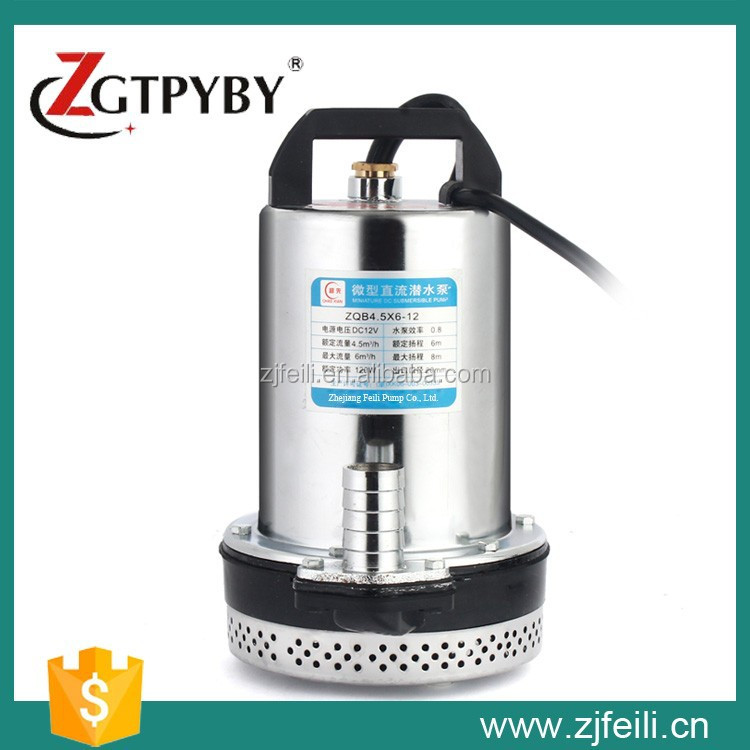 24V DC Water Pump, 24V DC Submersible Water Pump, 1hp Water Submersible Pump