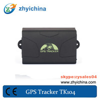 anti theft wireless vehicle tracker tk104 gps tracking by phone number