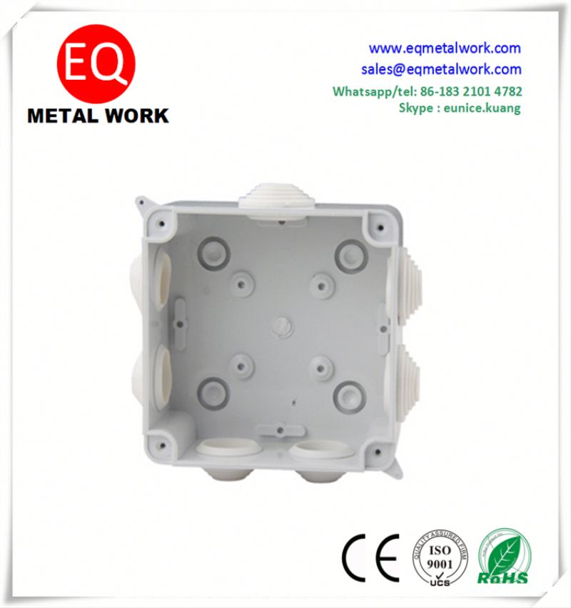 Outlet box for light fixture 4x4 j box 4 way electrical junction box