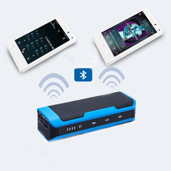2017 new arrival professional supply high quality multifunction mobile power bank with bluetooth speaker function