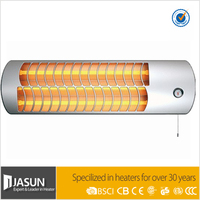 Quartz electric radiant wall heaters