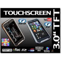 3.0 inch Touch Screen MP5 Player Support Micro SD Card