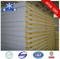 heat insulation polyurethane sandwich panel for frozen cold room with good price