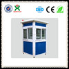 Colored Steel Material prefabricated security booth/ security guard booth QX-142G