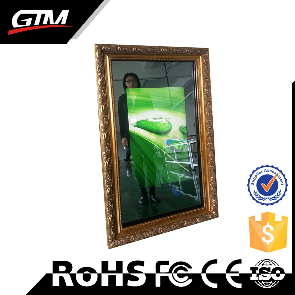 47inch network wifi lcd all in one pc monitor digital magic mirror lcd signage smart magic mirror advertisements