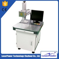 Hot sale fiber optical ce&fda certification pet id tag laser marking machine for logo engraving