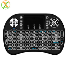 100% Original keyboard rii mini wireless battery bluetooth keyboard 2.4g backlit