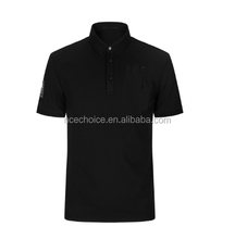 black oem odm man style customer design polo shirt china WRAP factory product summer dry fit type clothes
