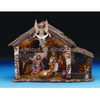 Resin Religious Statue Water Fountain the Birth of Jesus