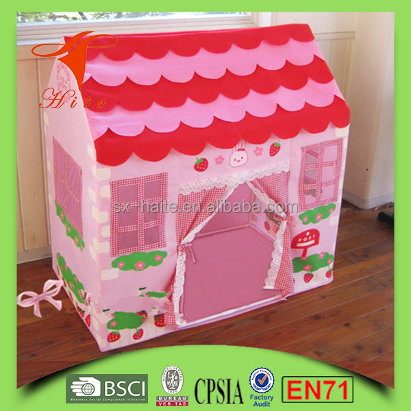 Hot selling Pop up play tent for baby child play fabric house