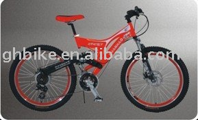 26'' popular full suspension mountian bike MTB passed ce