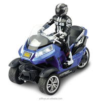 children vehical 1:10 racing rc motor Car rc motorbike Three wheel car