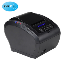 ZY606 Hot Sale 80mm Pos Thermal label Printer with blue lights