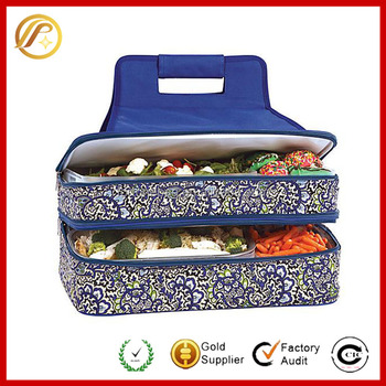 Custom Entertainer Hot & Cold Insulated Food Carrier Wholesale