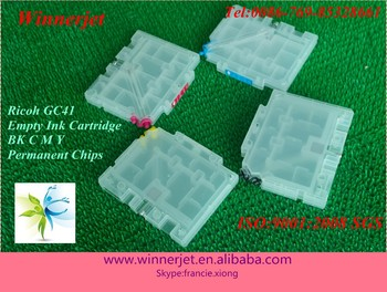 Refilable Ink Cartridge for Ricoh GC41 for Ricoh SG2100 SG3100 SG3110DN Printer