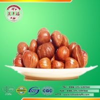 Hot saling roasted and peeled edible chestnut