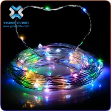 christmas 10M 33ft 100 LED Battery Operated Mini LED Copper Wire String Fairy Lights