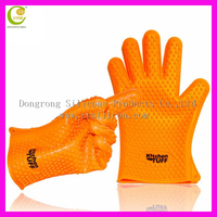 Arnest Household Sundries Kithcn Accessories Cooking Utensils Silicone Rubber Oven Mitts Heat-proof Silicone Gloves