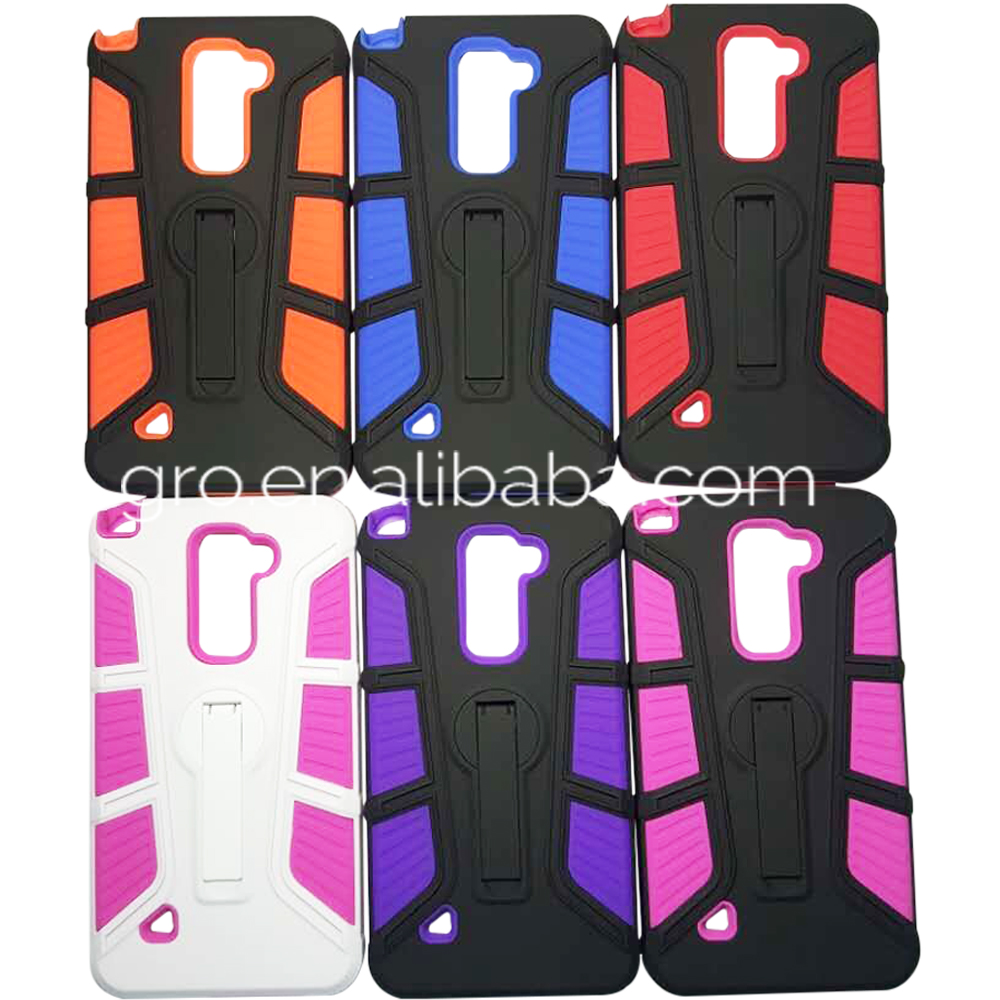 2016 Swinging Strut Kickstand Mobile Phone Case For ZTE Z963U Z988