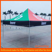 3X3M Top Quality Waterproof PVC Metal Frame Outdoor Canopy/Small Size Exhibition Tent/Outdoor Commercial Gazebo Tent Popular
