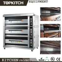Big Chamber Space Large Production Ability Mechanism Panel Bread Oven