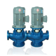 Small high pressure inline pump for chemical industry